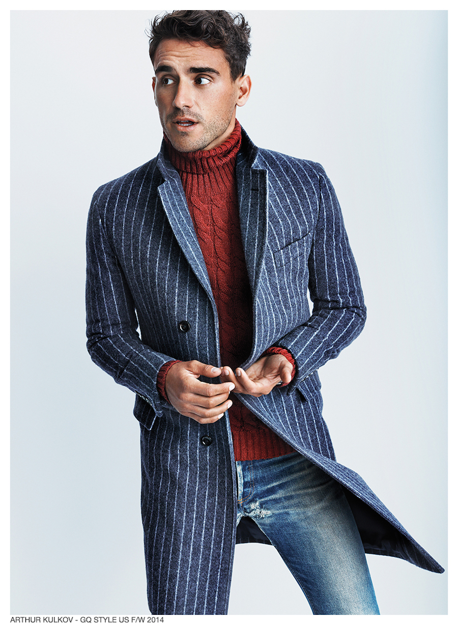 Arthur Kulkov Wears Fall Fashions For Gq Style Us Cover