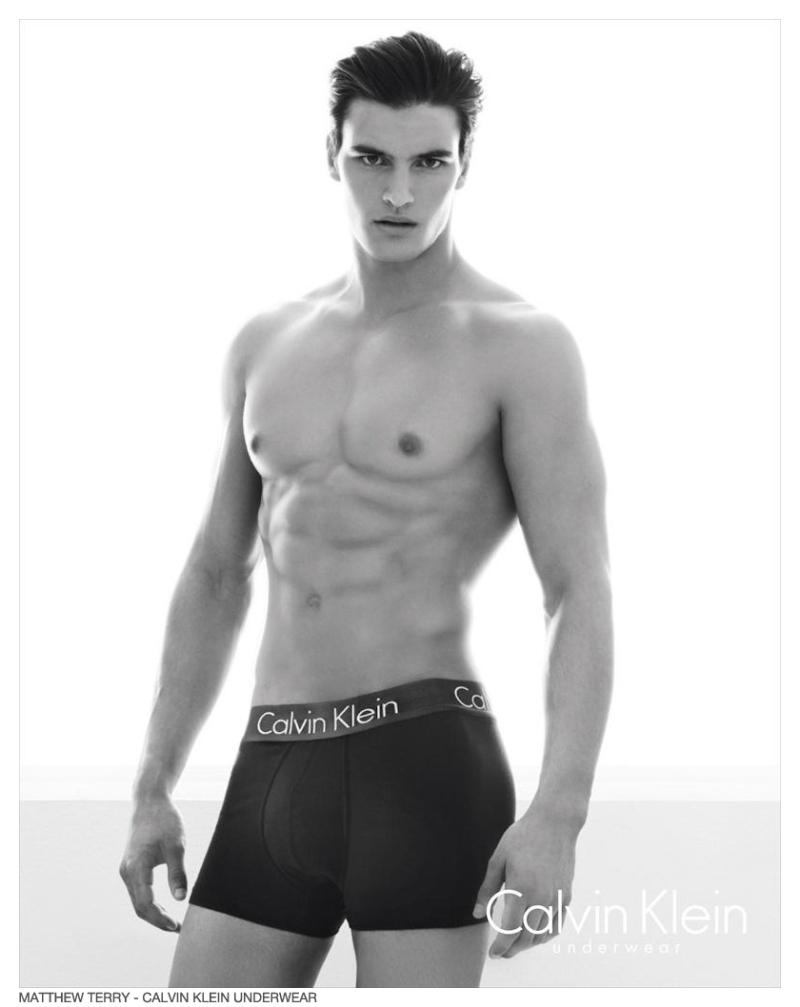 Matthew Terry Stars in Calvin Klein Underwear Fall/Winter ...