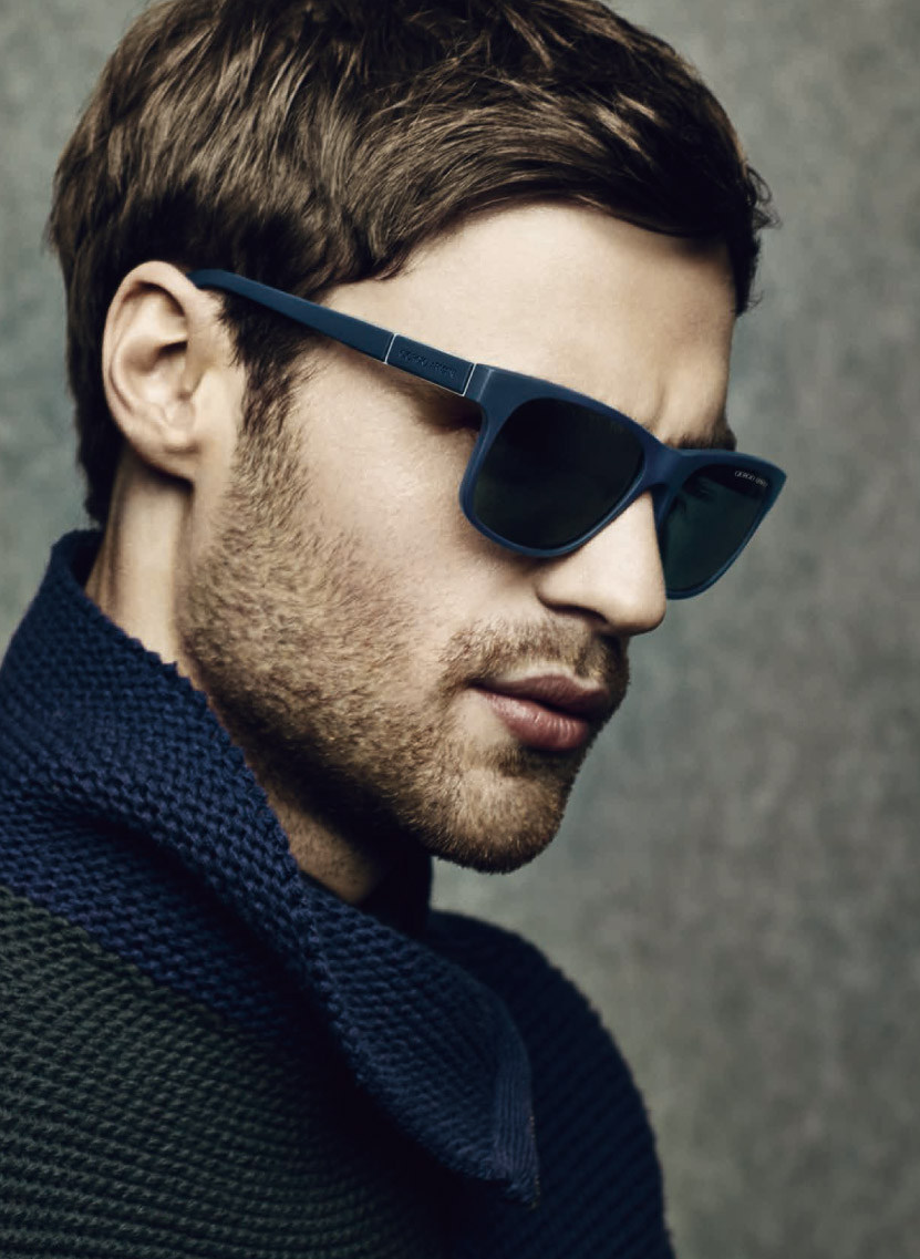 Armani Glasses Frames 2014 : George Alsford Stars in Giorgio Armani Fall/Winter 2014 ...