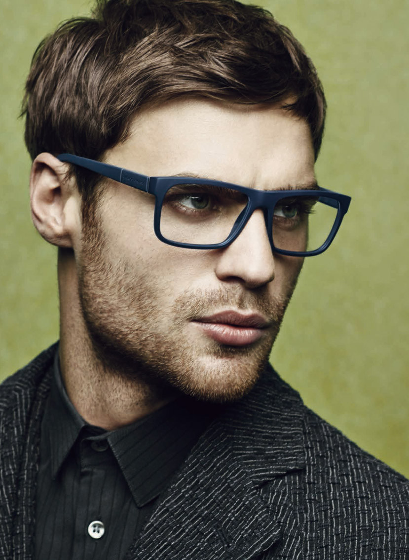 Armani Eyeglass Frames 2015 : George Alsford Stars in Giorgio Armani Fall/Winter 2014 ...