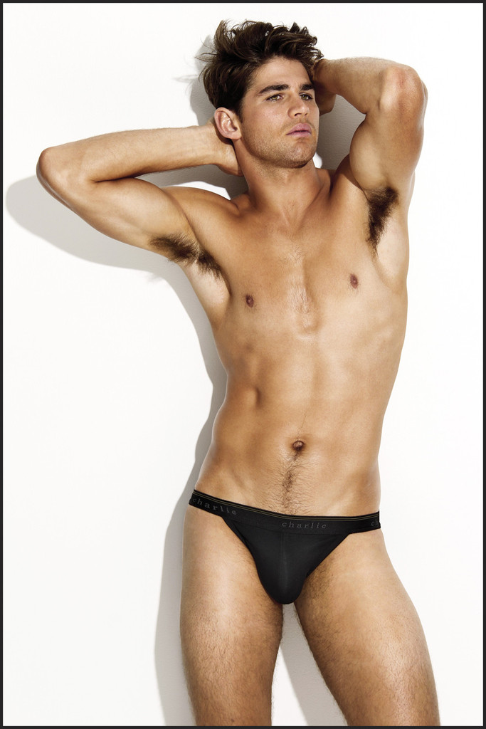Ryan Bertroche Models Charlie By Matthew Zink Underwear