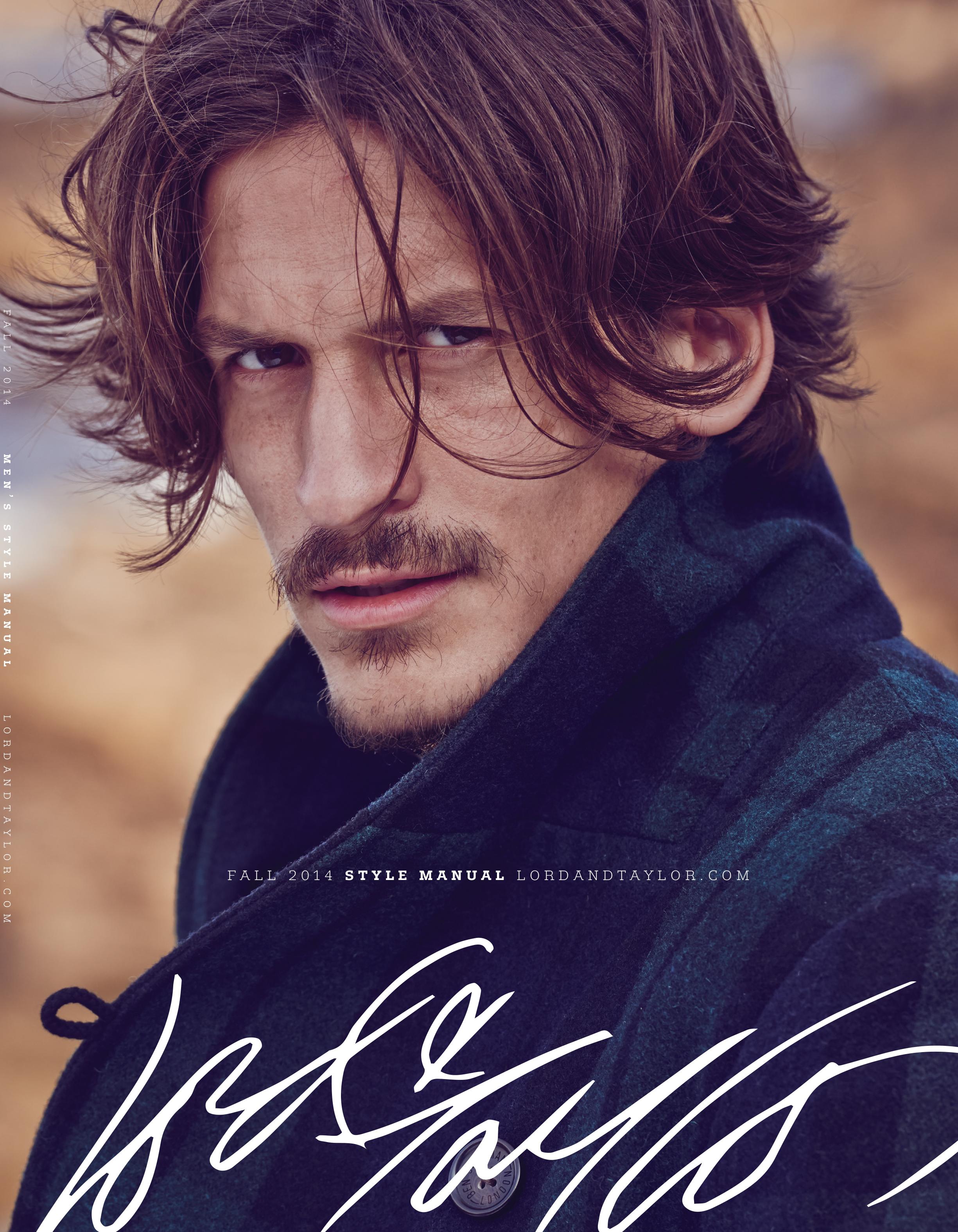 Jarrod scott covers lord taylor fall winter 2014 catalogue