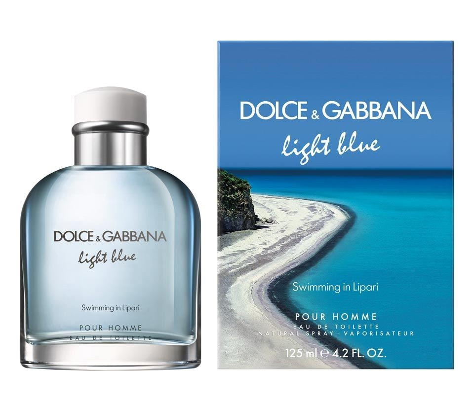 dolce gabbana launches light blue swimming in lipari eau. Black Bedroom Furniture Sets. Home Design Ideas