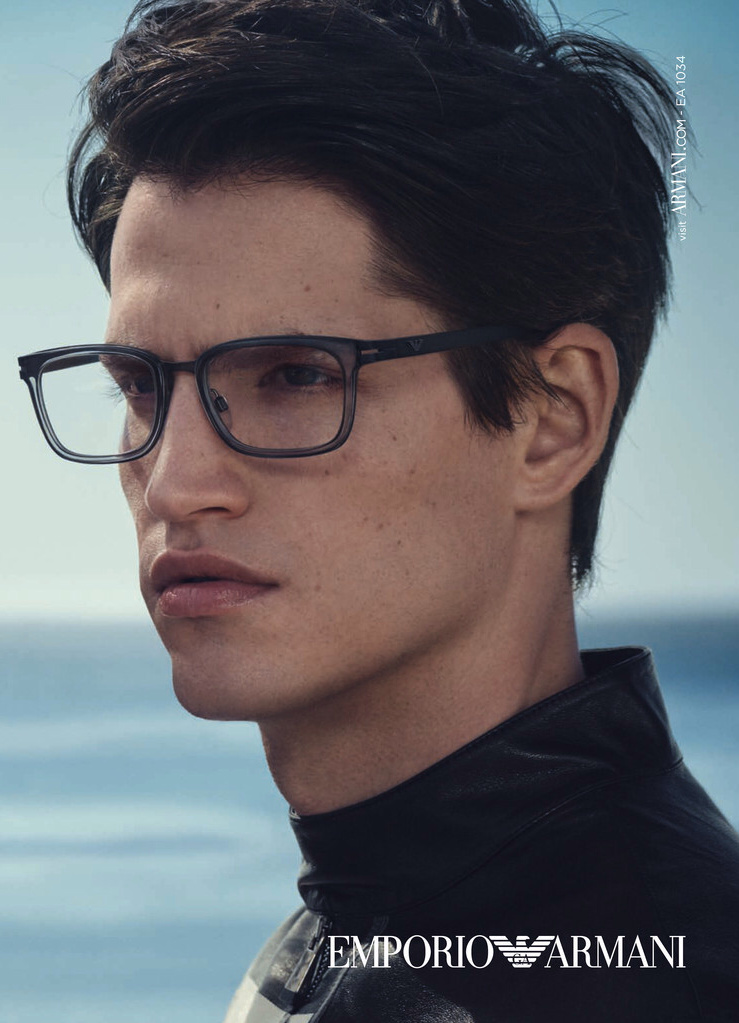 Armani Glasses Frames 2015 : Jakub Zelman Stars in Emporio Armani Spring/Summer 2015 ...