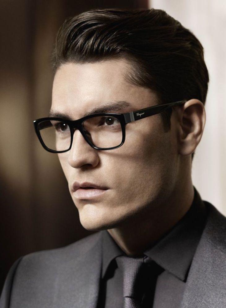 Mens Eyeglass Frame Styles 2015 : #THROWBACK: TYSON BALLOU FOR SALVATORE FERRAGAMO FALL ...