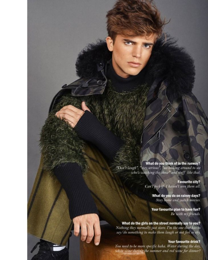 Reflex Homme - January 2016