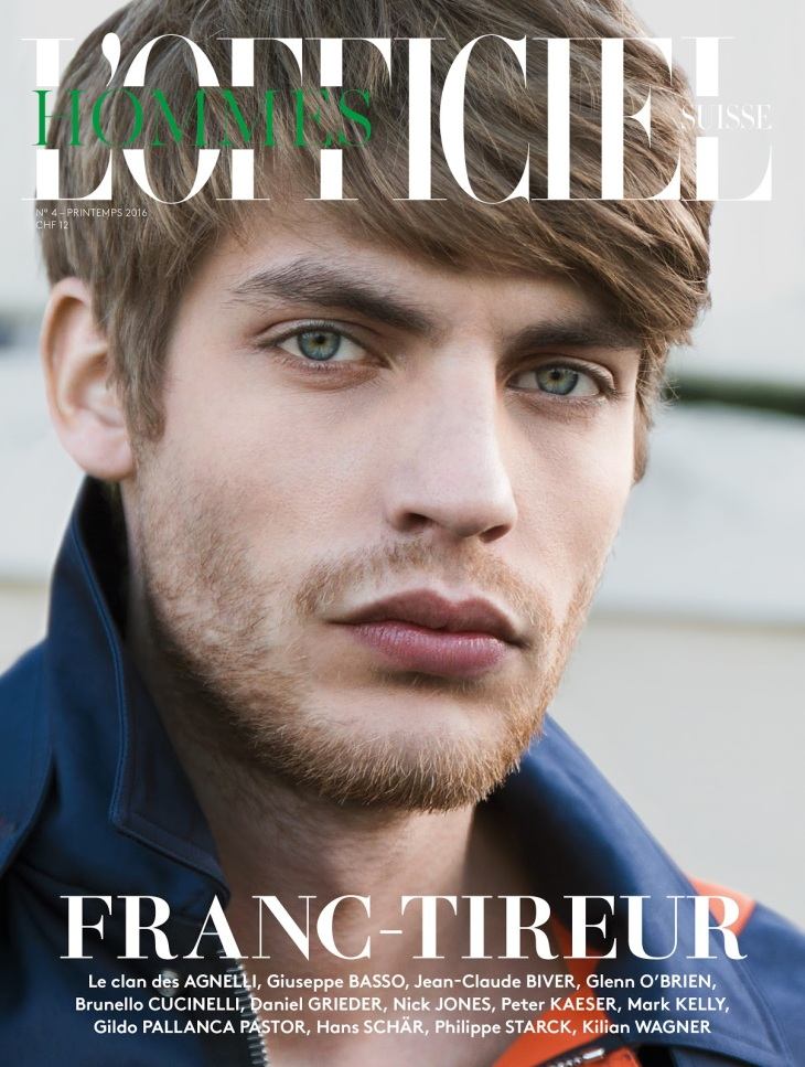 L'Officiel Hommes Switzerland - Spring/Summer 2016