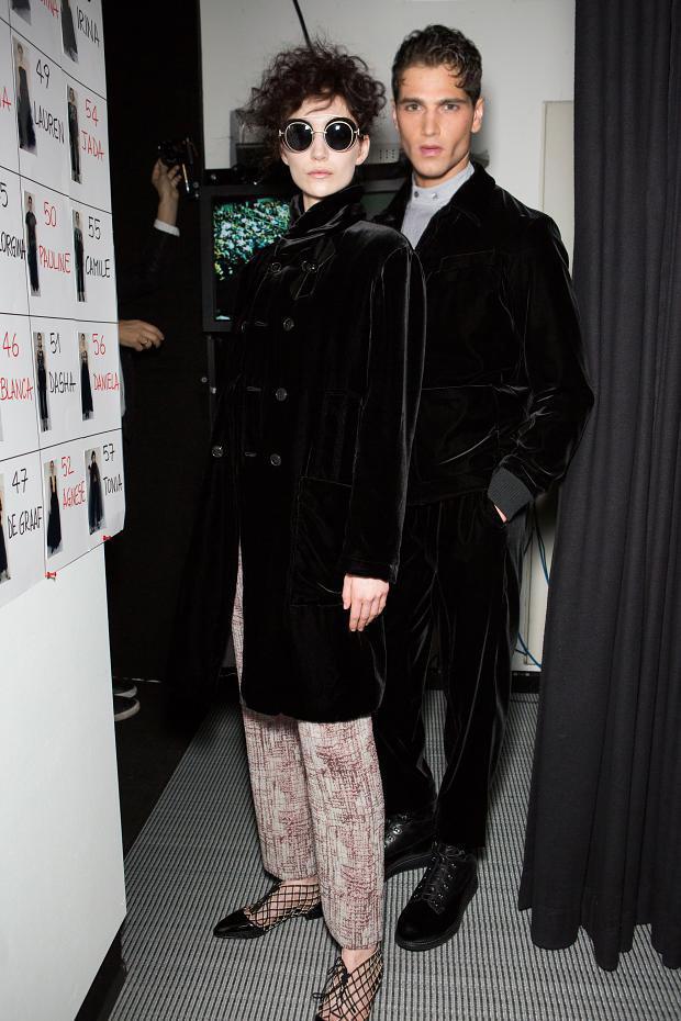 Fabio Mancini behind the scenes - Giorgio Armani Womenswear Fall/Winter 2016