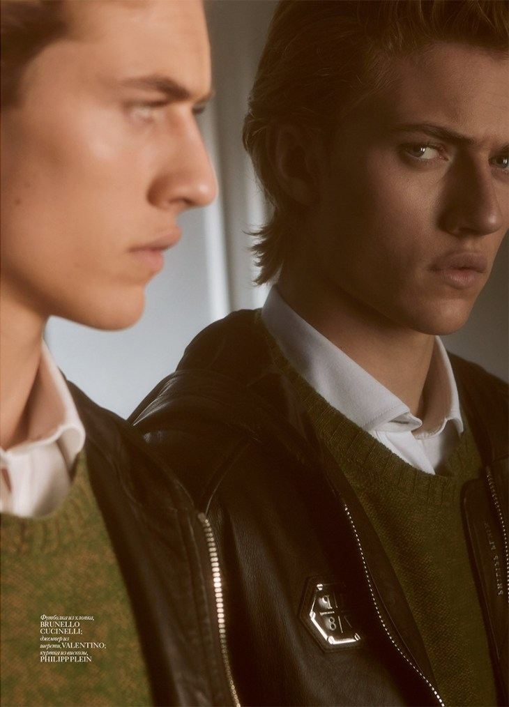 Vogue Man Ukraine - Spring/Summer 2016