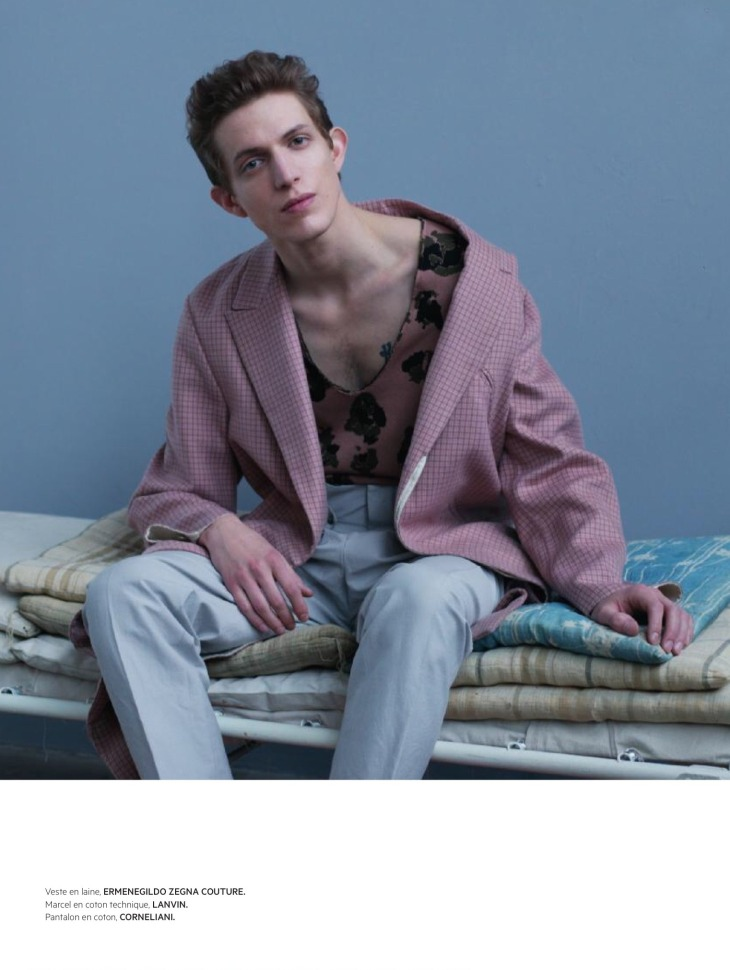 L'Officiel Hommes Paris - Spring 2016