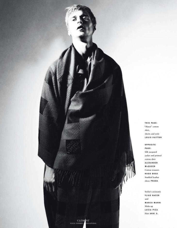 Vogue Hommes - Spring/Summer 2016