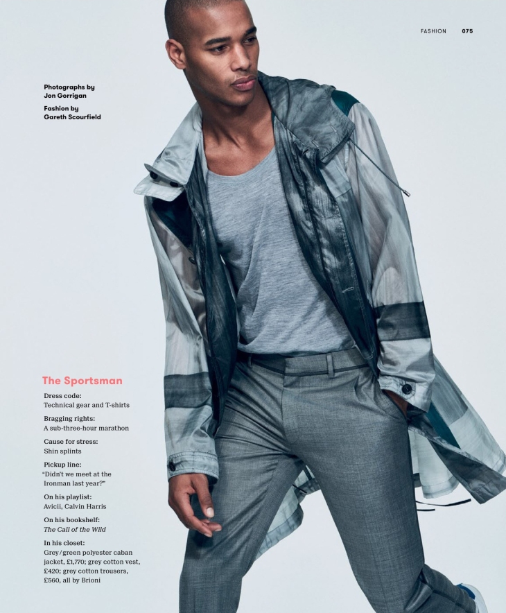 Esquire UK Big Black Book - Spring/Summer 2016