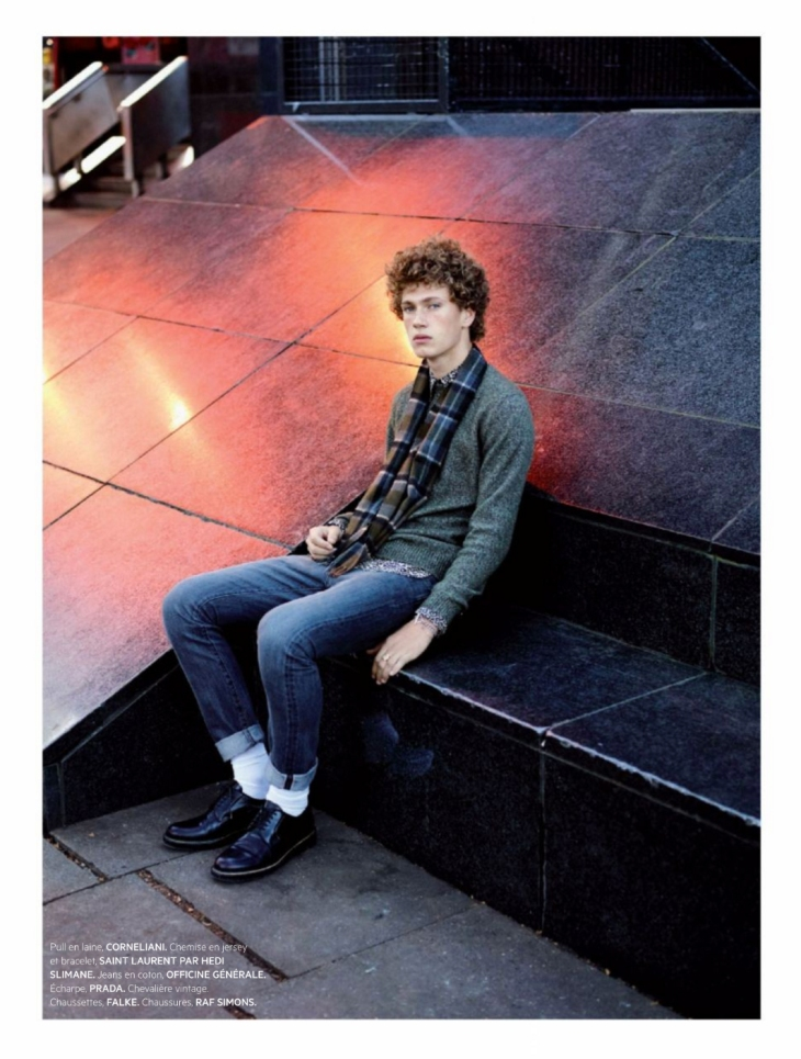 L'Officiel Hommes Paris - Winter 2015