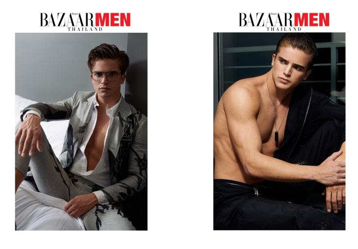 Harper's Bazaar Men Thailand - Spring/Summer 2016
