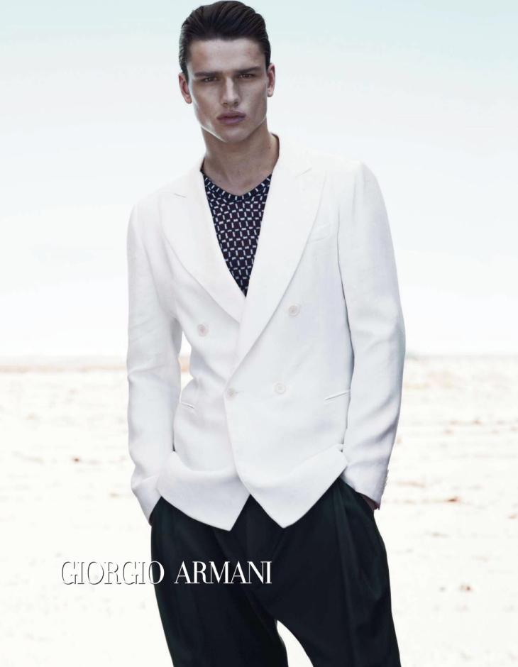 Giorgio Armani - Spring/Summer 2012