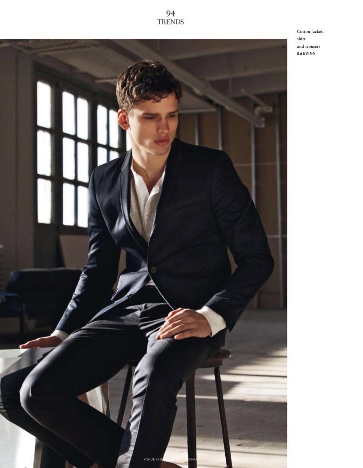Vogue Hommes - Spring/Summer 2012