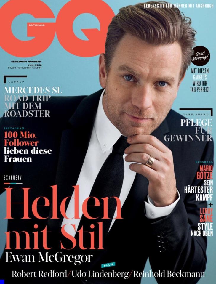 GQ Germany - June 2016