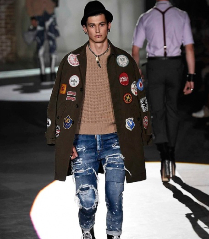 dsquared2 2017 collection