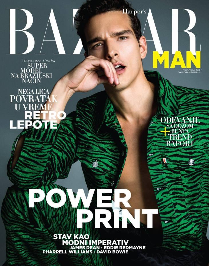 Harper's Bazaar Man Serbia - November 2016