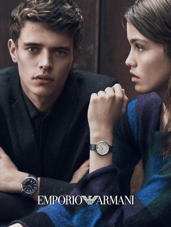 Emporio Armani Watches - Fall/Winter 2016